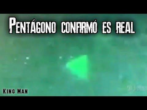 Portavoz del Pentágono confirmó que el video capturado con visión nocturna por la Marina es real