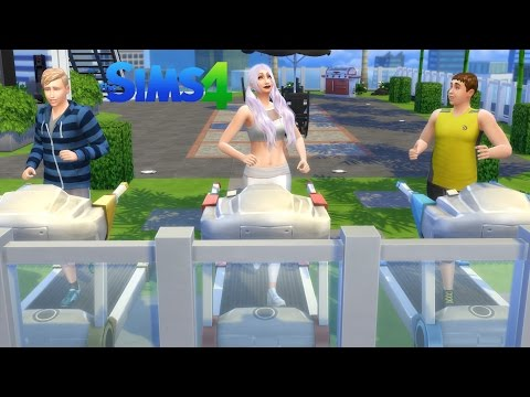 The Sims 4//Penthouse Exercise