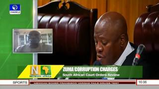 Network Africa: South African Court Orders Review Of Zuma Corruption Charges Pt.1