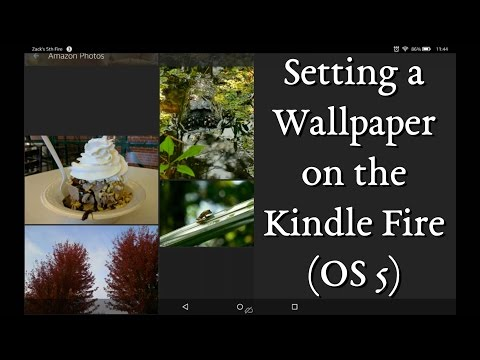 Change Wallpaper / Background on Kindle Fire (OS 5)
