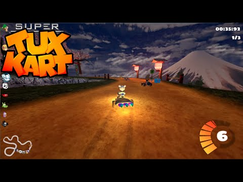 SuperTuxKart 0.9.3 Alpha Testing - All Tracks Expert Grand Prix vs 10 AI