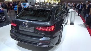 New Audi A6 Avant 2019 first look