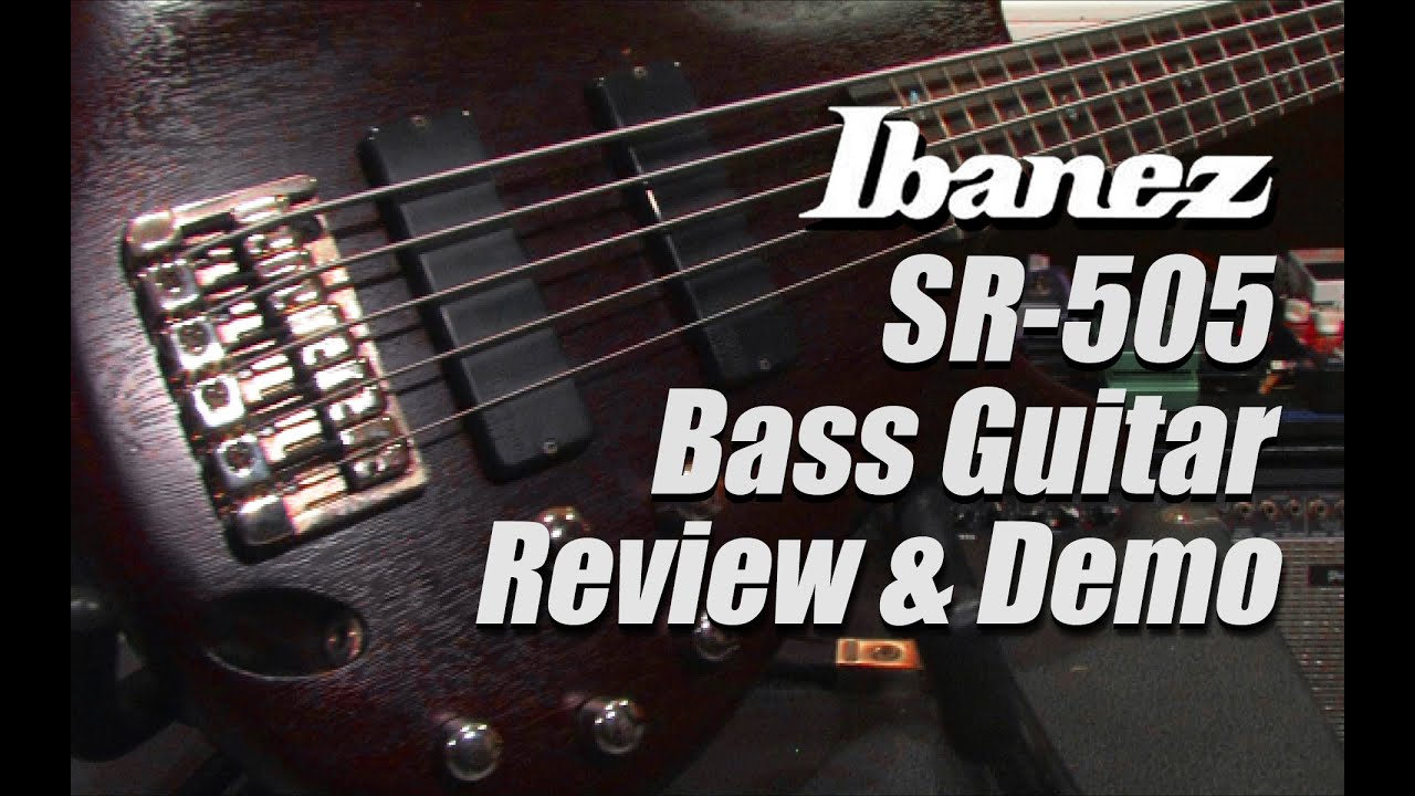 ibanez sr505 bass review demo youtube