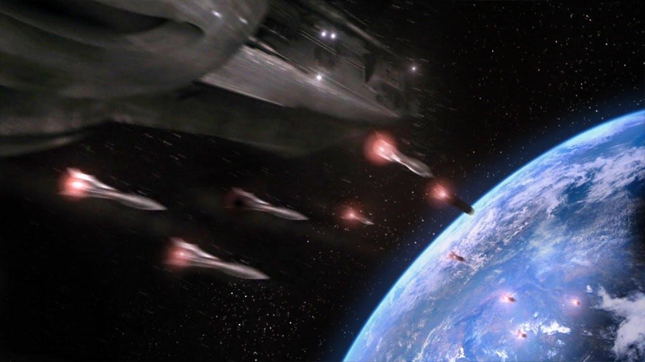 外星文明入侵地球-人类躲入保护罩-研发武器伺机反攻-速看科幻电影-冒名顶替