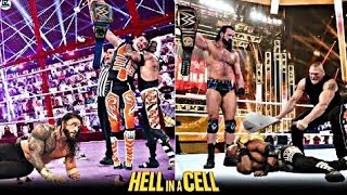 WWE Hell In A Cell 20 June 2021 Highlights In Hindi - WWE Hell In A Cell 2021 Full Show In Hindi