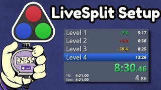 How to Set Up a Speedrun Timer (LiveSplit Tutorial)