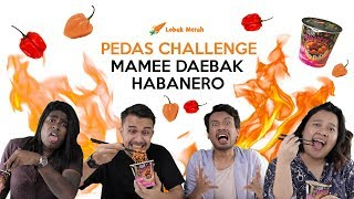 Pedas Challenge! Mamee Daebak Habanero (Dendam Edition)