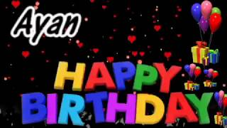 Ayan Happy Birthday Song With Name Ayan Happy Birthday Song Happy Birthday Song