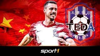 Das ist Sandro Wagners neuer Klub Tianjin Teda   SPORT1