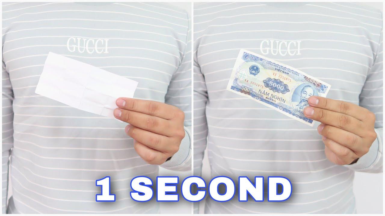 How to do 3 MONEY Magic Tricks