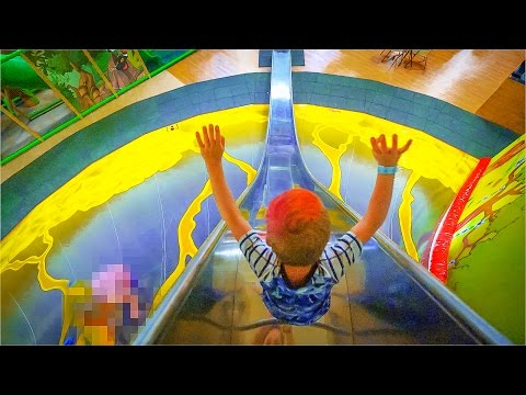 Thumbnail: Indoor Playground Fun for Family and Kids at Busfabriken
