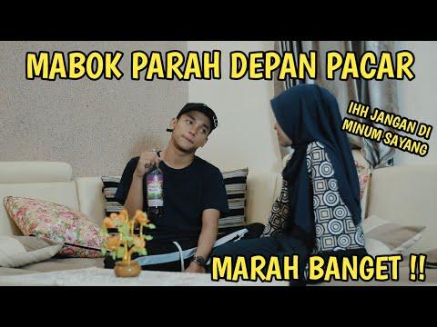 PRANK MABOK DEPAN PACAR  AUTO MARAH BESAR !!