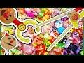 アンパンマン おもちゃアニメ お菓子いっぱい取れるのどっち? ステップアップ箸VSマジックハンド  Toy Kids トイキッズ animation anpanman