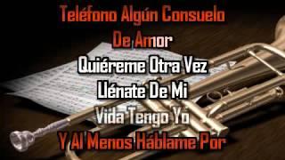 karaoke Carta De Amor Juan Luis Guerra