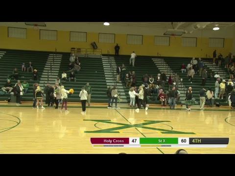 Saint X vs. Holy Cross High School | KHSAA Varsity Basketball