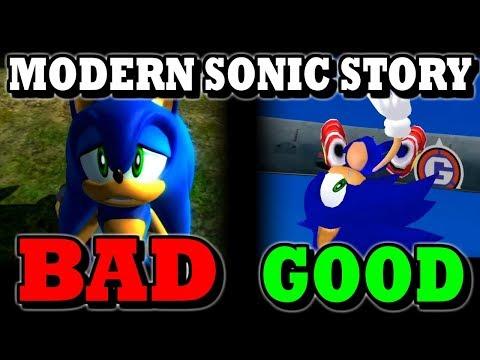 Story in Modern Sonic