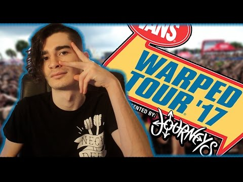 Who Am I Seeing At Warped Tour 2017?