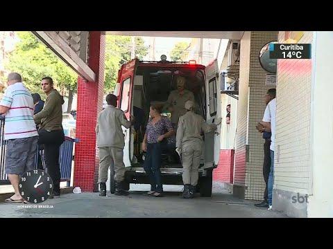 Jovem é atingida na cabeça por bala perdida durante arrastão no RJ | SBT Notícias (28/06/18)