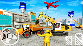 Grand Airport Construction Simulator - Airplane Games 2020 - Android Gameplay