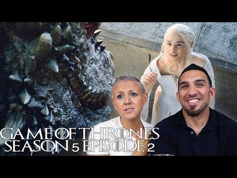 Game Of Thrones Season 5 Episode 2 'The House Of Black And White' REACTION!!