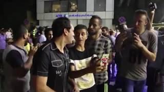 فيديو| أمير عبد الحميد يلتقط «السيلفى» فى عزاء الأهلى