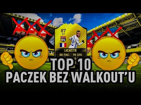 TOP 10 PACZEK BEZ WALKOUT'U