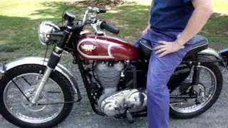 1967 Matchless G80CS - Start, Idle, Run by Randy