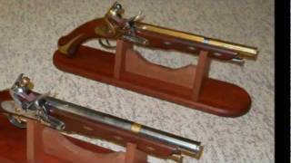 Home made flintlock pistols by Laci