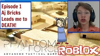 Roblox Episode 1 Aj Bricks leads me to DEATH! Mrs. Samantha