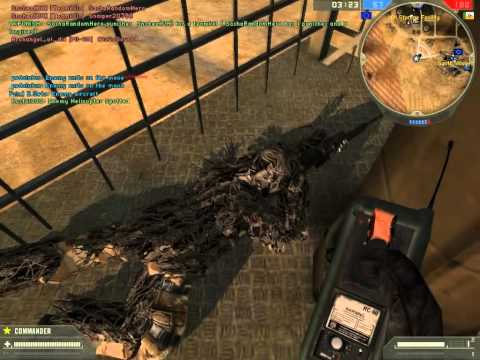 Battlefield 2 - Trolling noobs with C4.avi
