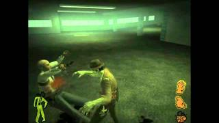 Stubbs the Zombie - геймплей / gameplay - (PC) [HD]