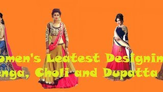 bd07f798b Videos related to Chamunda Enterprise Embroidered Women s Lehenga Choli and  Dupatta Set ( Stitched )