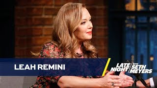 Leah Remini on How Disconnecting Motivated Her Disconnect from Scientology