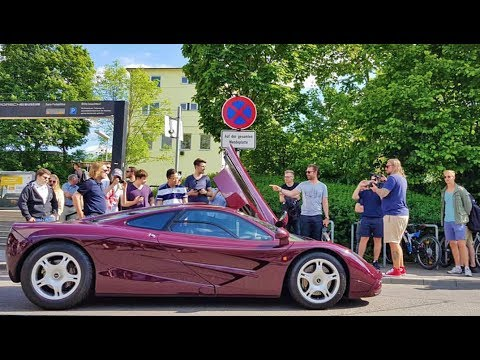 Turning Up To Porsche In A McLaren F1