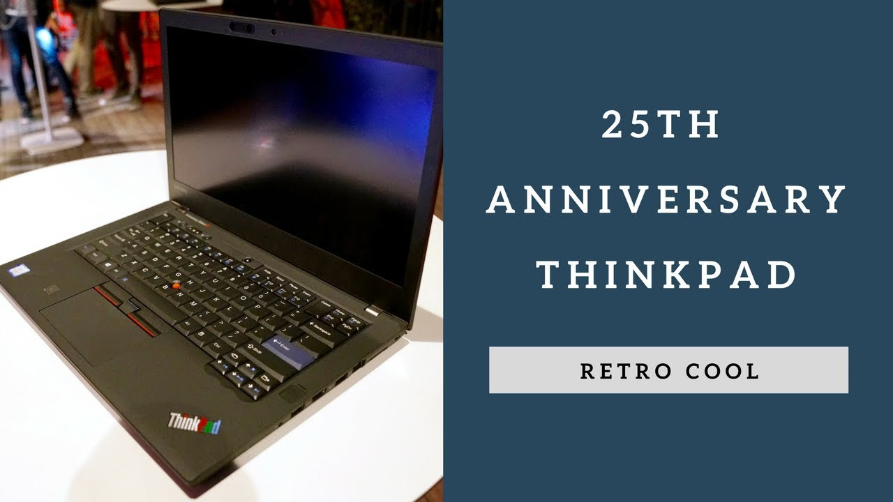 Retro ThinkPad 25 Anniversary Edition Launched in Japan