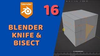 Blender - Modelleme Araçları ► Knife&Bisect