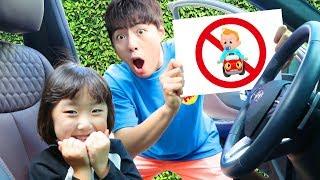 잠깐!!!! 어린이가 운전 하면 안되요!!! 장소 마다 규칙을 지켜요. simple rules for children 마슈토이 Mashu ToysReview