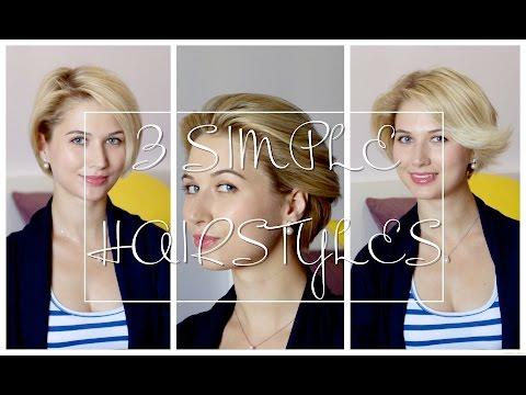 Как сделать укладку на короткие волосы в домашних условиях видео