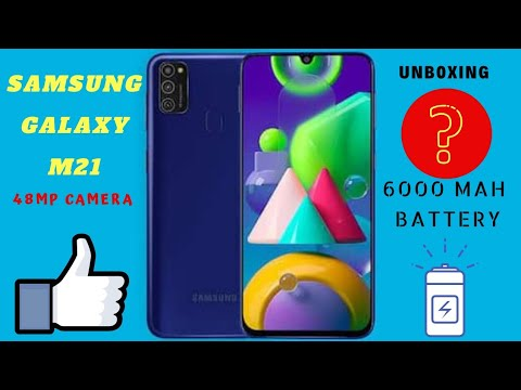 Samsung Galaxy M21 Unboxing & First Impressions🔥🔥🔥 6000mAh Battery, 48MP Cameras And More