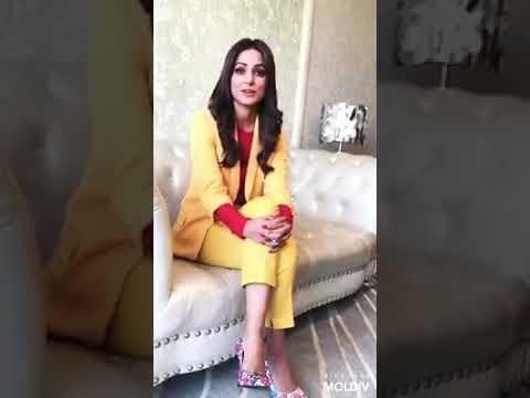 Hina Khan Singing Song Of Baba Main Tere Mallika Raazi Movie | Aalia Bhatt |