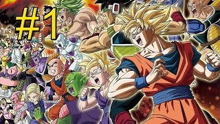 Dragon Ball Z Extreme Butoden {3DS} часть 1 — Галопом по Европам