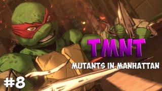 Черепашки-Ниндзя: Мутанты в Манхэттене. Прохождение #8 (TMNT: Mutants in Manhattan Gameplay 2016)