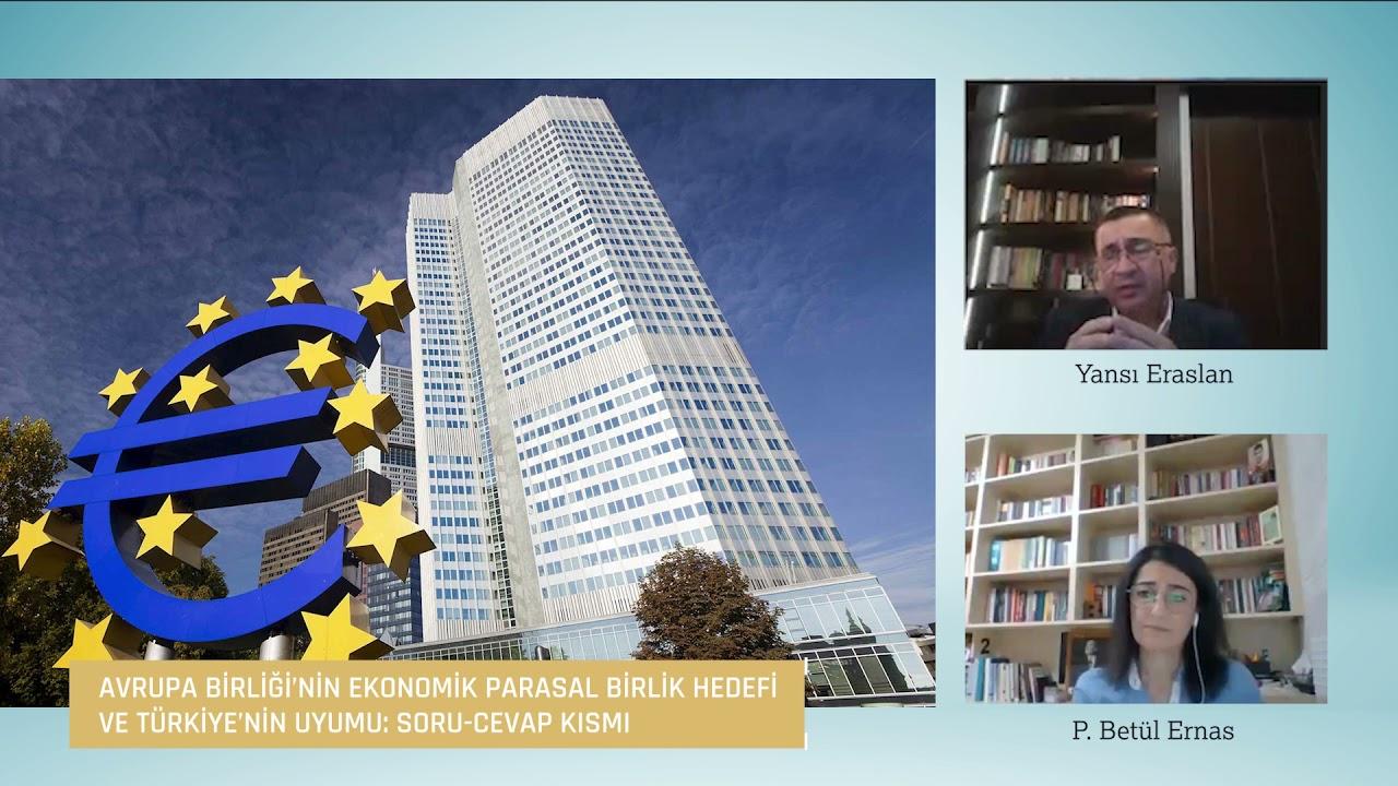 Avrupa Birliği'nin Ekonomik Parasal Birlik Hedefi ve Türkiye'nin Uyumu: Soru-Cevap Kısmı