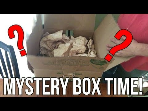 Opening Latest Mystery Box   Won the Bob Ross Painting   Now Let's Sell it!
