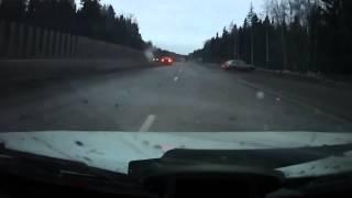 ДТП на трассе Пермь - Краснокамск