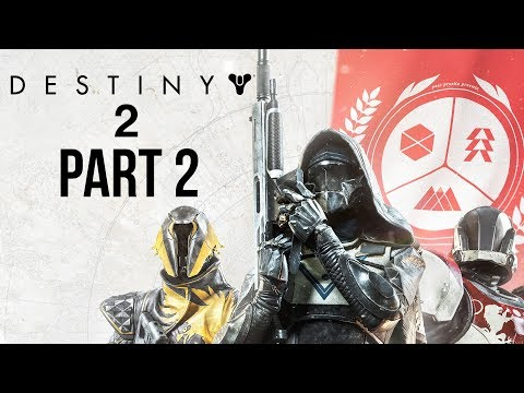 DESTINY 2 Walkthrough Part 2 - TITAN MOON (Full Game) PS4 Pro Gameplay