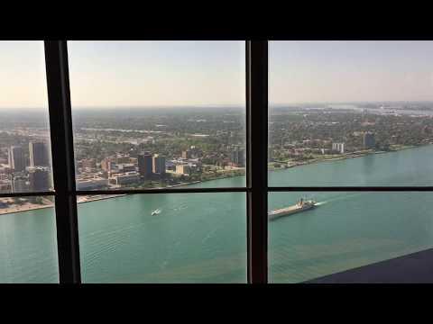 Detroit Marriott Penthouse 3 Bedroom Governors Suite Part 1