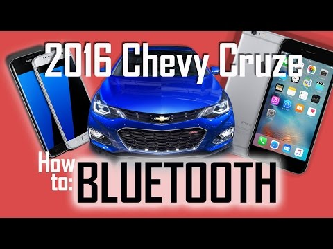 2016 Chevy Cruze Bluetooth - Pair Your Phone In Seconds!!!