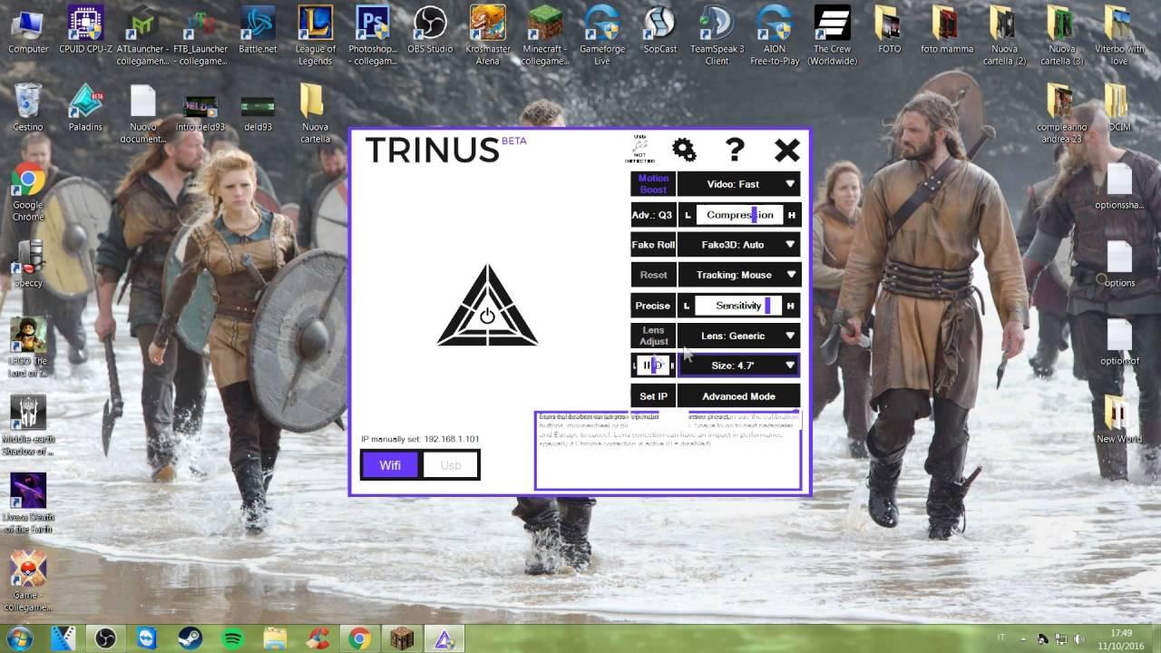Trinus vr please disable your internet connection