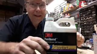 Drum re-wrapping contact adhesive choices pt. 2